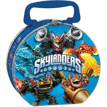 Skylanders Evergreen Metal Lunch Carry All Tin 1 Per Package Party Suppl... - $11.83