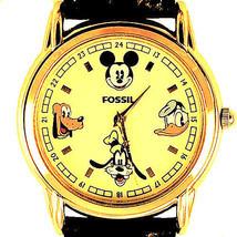 Mickey Pluto Goofy Donald Duck, Disney Fossil LTD Edition, New Unworn Wa... - $123.60