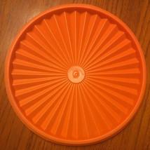 "Tupperware 8.25"" Round Servalier Replacement Lid / Seal -  Orange #1205-25 - $5.94"
