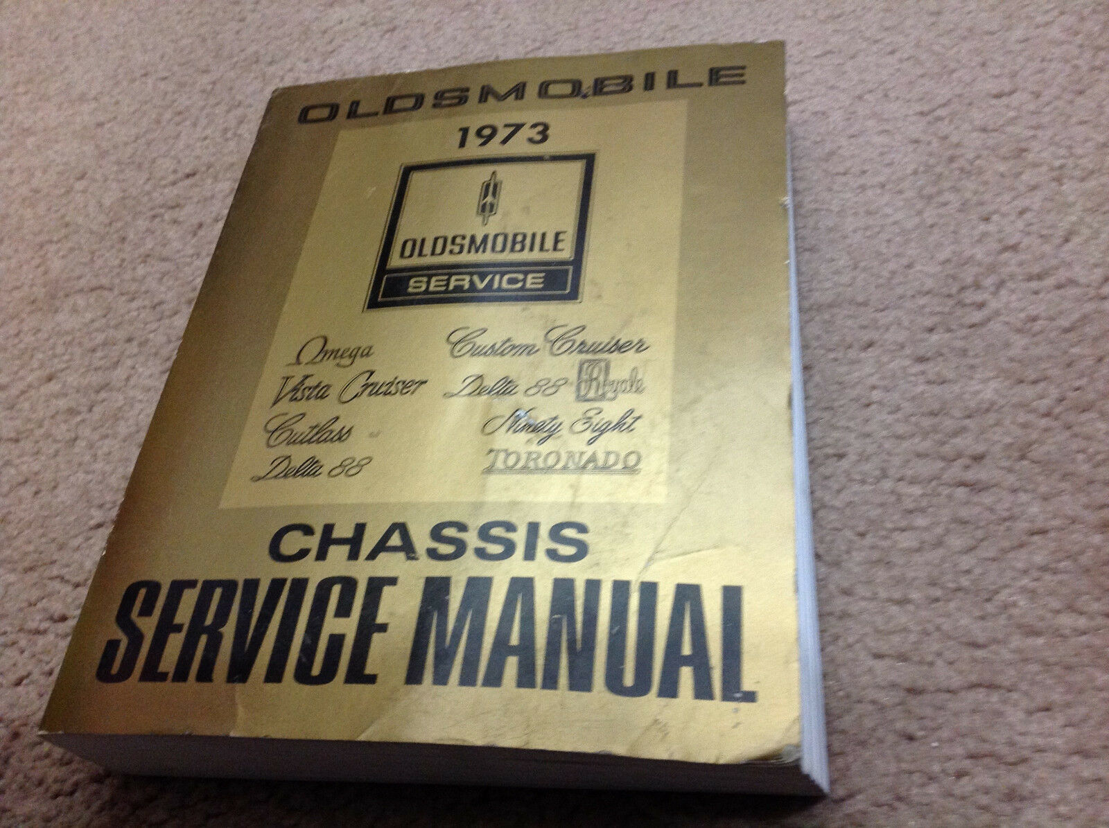 1973 Oldsmobile F85 CUTLASS 442 VISTA DELTA TORNADO 88 Service Shop Manual OEM image 6