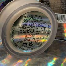 NIB SEALED Laura Mercier Translucent Setting Powder Glow 29g / 1 oz. with Puff image 7