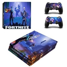 Sony PS4 PRO Green Camo Console & 2 Controllers Decal Vinyl Skin Wrap Sticker  image 8