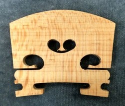 1/2 Size Violin Bridge. High Quality. Low Cost. - $3.59