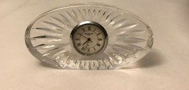 Waterford  Crystal Clock/ Untested - $18.70