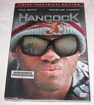 Hancock DVD, 2008, Rated Single Disc Version, Superhero Movie, Free Ship... - $11.85