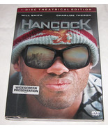 Hancock DVD, 2008, Rated Single Disc Version, Superhero Movie, Free Ship... - $11.85