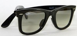 New Genuine Ray Ban 2140 901/32 Wayfarer Classic Black Gradient Lens Sun... - $98.95