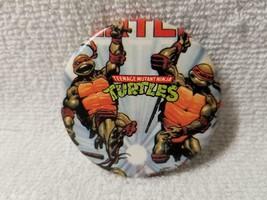 Teenage Mutant Ninja Turtles Pin Badge Button 1990's Pinback - $3.95