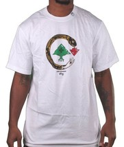 L-R-G LRG Cold Blooded Serpent Arbre Logo Noir ou Blanc T-Shirt Nwt