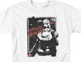 DC Comics Harley Quinn Graphic Tee Suicide Squad The Joker Supervillain BM2580 image 3