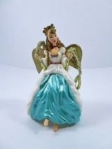 Hallmark Keepsake Ornament Barbie Angel Of Joy 2000 Mattel On Gold Cord ... - $9.89