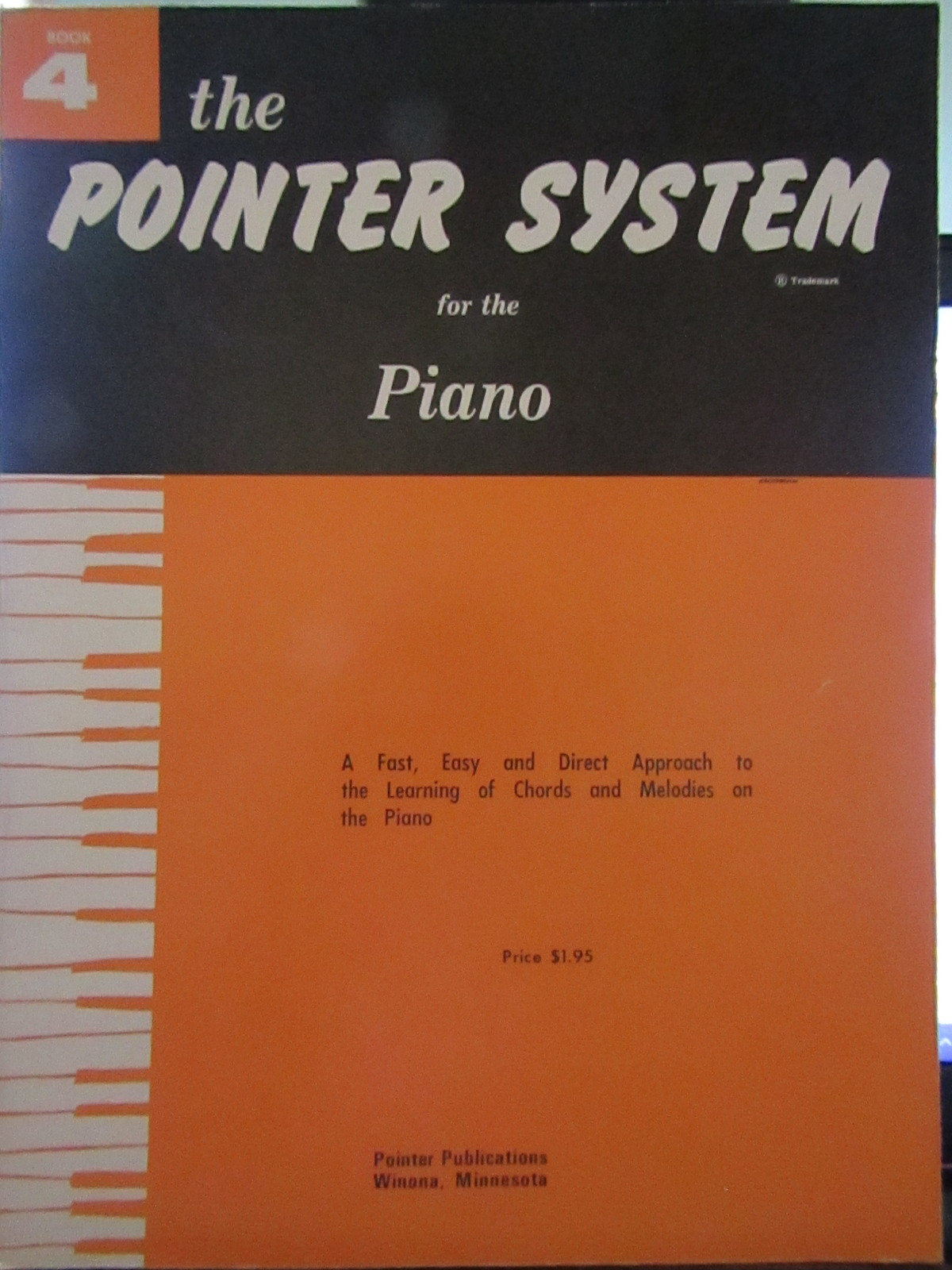 The Pointer System for the Piano Book 4