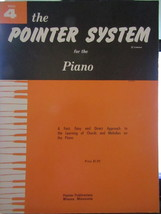 The Pointer System for the Piano Book 4 - $5.50