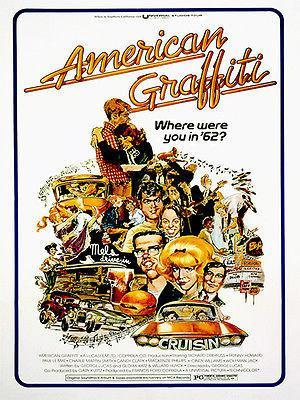 Primary image for American Graffiti - 1973 - Movie Poster