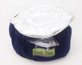 Tuna Can Cat Bed, w/Lid ~ Soft Cuddly & Cute Kitty Playhouse ~ Bandwagon #L7190 image 2