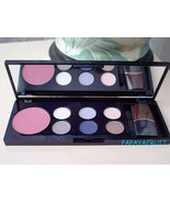 Estee Lauder Blush 6 Eyeshadow Palette FRESH PLUM BLUE SMOKE ROSE CONFET... - $25.73