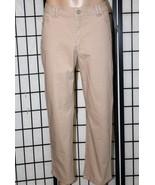 "LEE Classic Fit Women's Size 16 P Petite Straight Leg Stretch Pants 28"" ... - $26.11"