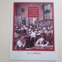University of Chicago College Dean's Circle Ex Libris Vintage Bookplates... - $9.89