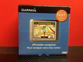 Garmin Nuvi 260 GPS - $14.00