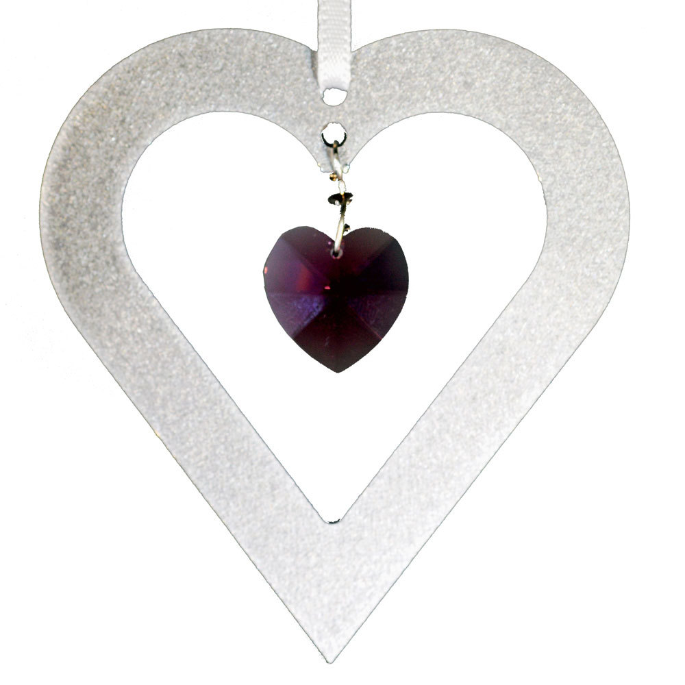 Crystal heart ornament al3hrt p012 01