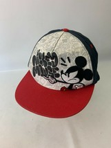 Mickey Mouse Official Disney Park Hat Snap On Baseball Cap Embroidery  - $12.99