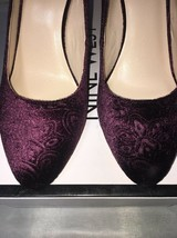 Nine West Jayvee Velvet-like Damask Pumps Shoes Size:7 - $35.64