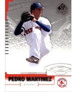 2004 SP Authentic #48 Pedro Martinez NM-MT Red Sox - $0.99