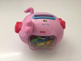 Kinder Fisher Price Vorschule Elektronisch Pig Sparschwein Zählen Sortierer - $21.87