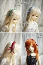 Kint Ribbon Hair Band for BJD SD and MSD/YoSD Dolls 13 Colors Available - $10.90