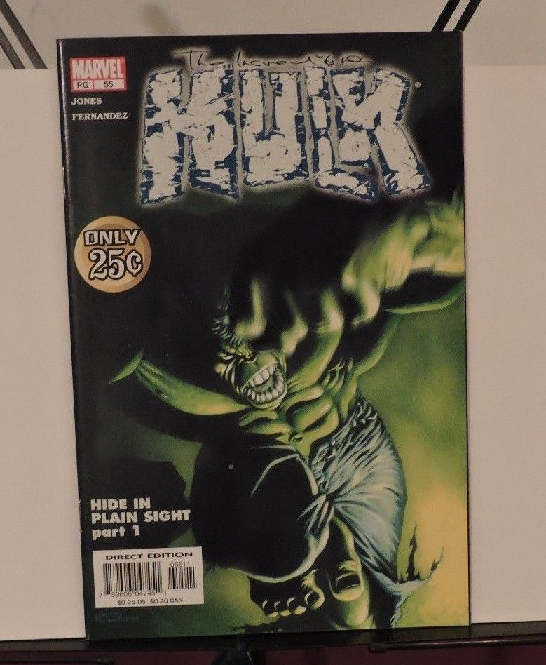Incredible Hulk #55 (Aug 2003, Marvel)