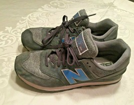 New Balance Men's 574 ML574TTC Gray Sweatshirt Sneakers Trainers Size 10 D - $37.04