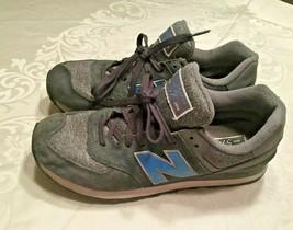 New Balance Men's 574 ML574TTC Gray Sweatshirt Sneakers Trainers Size 10 D - $37.04