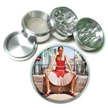 Cuban Pin Up Girls D8 63mm Aluminum Kitchen Grinder 4 Piece Herbs & Spices - $11.05