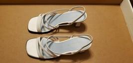 Women's Slingback Sandals - Liz Claiborne - White - Size 8M - $35.00