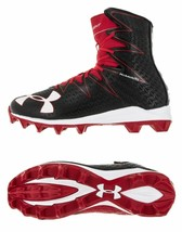 Under Armour Mens UA Highlight RM Football Cleats 1269695-061 Red/Black ... - $41.24