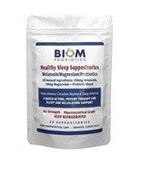 Biom Probiotics Healthy Sleep Suppository - Rectal or Vaginal Vasculatur... - $83.30