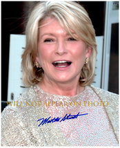 MARTHA STEWART Signed Autographed 8X10 Photo w/ Certificate of Authenticity 355 - $48.00