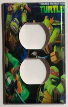 Teenage Ninja turtles Light Switch Outlet Duplex wall Cover Plate Home decor image 1