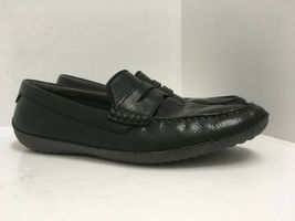 Cole Haan Men's MOTOGRAND Penny Loafer Black Leather Driving Shoes Size 11M GUC image 3