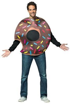 Chocolate Doughnut Donut Adult Costume Food Halloween Party Unique GC6328