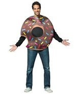 Chocolate Doughnut Donut Adult Costume Food Halloween Party Unique GC6328 - $1.074,25 MXN