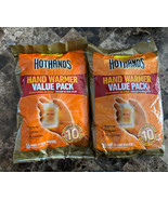 2 Packs Of HotHands Hand Warmers Value Pack- Up to 10 Hours of Heat - (4... - $24.75