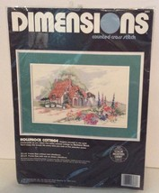 """Dimensions Counted Cross Stitch Kit """"Hollywood Cottage"""" - $17.46"""
