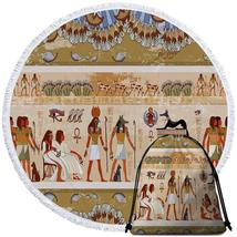 Ancient Egyptian Art Beach Towel - $12.32+