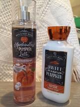 Bath & Body Works PUMPKIN Marshmallow Latte Fragrance Spray Cinnamon Bod... - $37.90