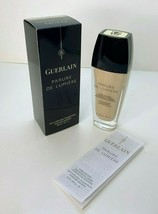 Guerlain Parure De Lumiere Light Diffusing Foundation 01 Beige Pale 1 oz BOXED - $28.91