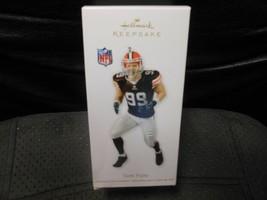 "Hallmark Keepsake ""Scott Fujita - Cleveland Browns"" 2012 Ornament NEW Se... - $9.65"