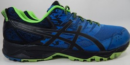 Asics Gel Sonoma 3 Size US 13 M (D) EU 48 Men's Running Shoes Blue Black T724N