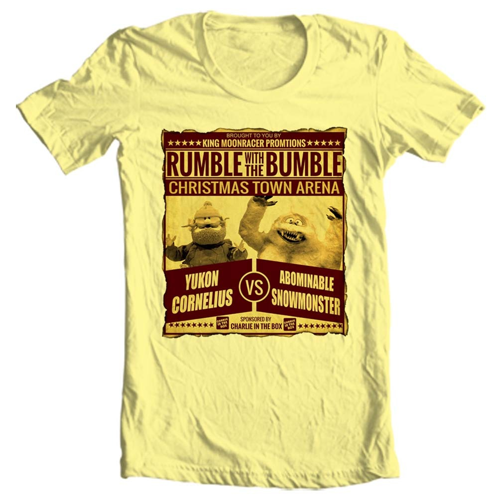 Yukon cornelius bumble t shirt christmas rudolph online t shirt store for sale