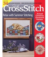 Just Cross Stitch 2017 PRE-ORNAMENT August maga... - $6.99
